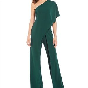Flutter One Shoulder Jumpsuit
